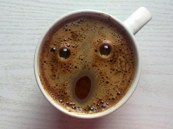 L'urlo...del caffè!