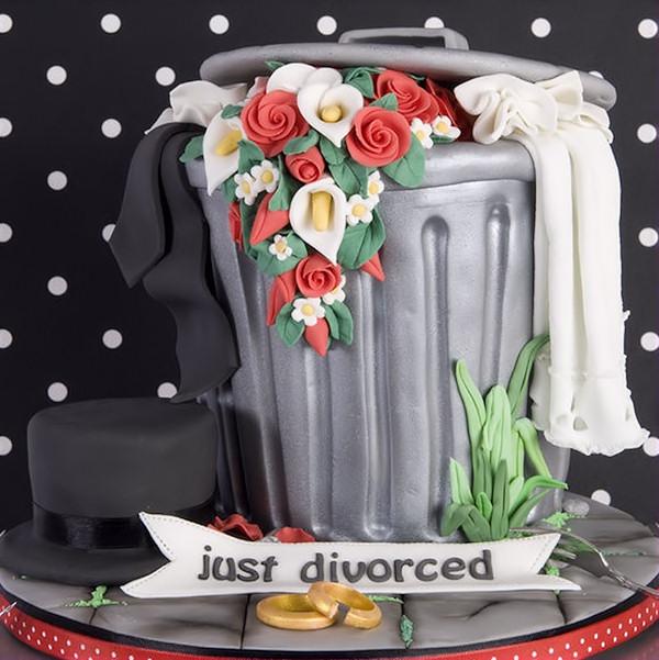 Una torta per festeggiare il divorzio con dolcezza!