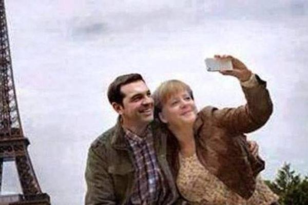 Il selfie di Angela Merkel