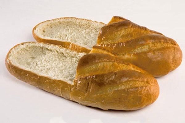 Le prime calzature commestibili