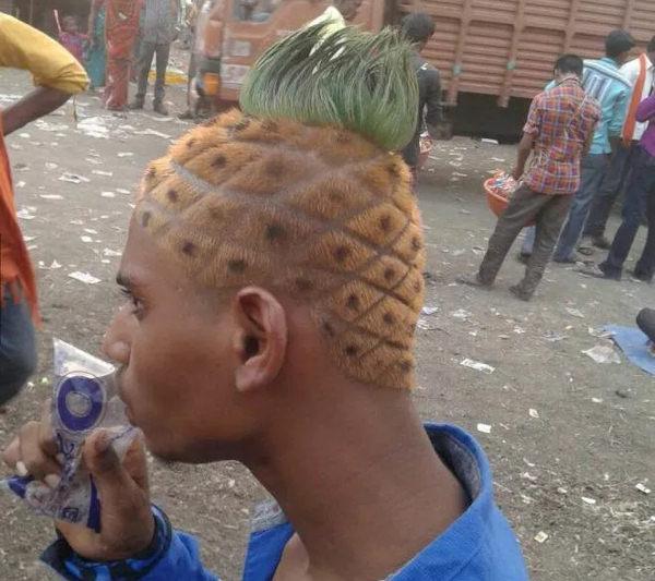 Testa ad ananas!