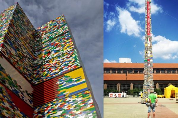 Torre Lego da record