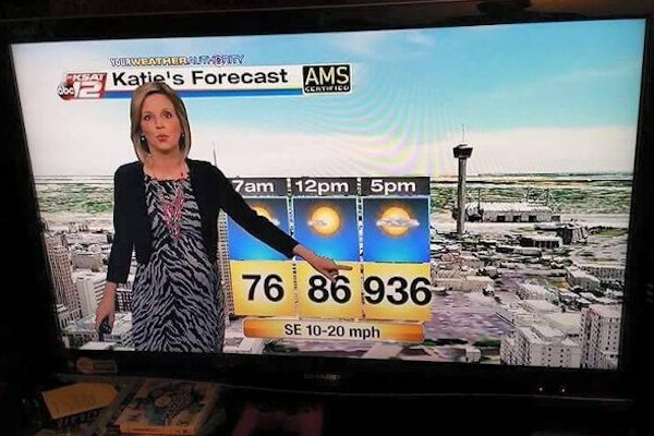 Allarme previsioni meteo!
