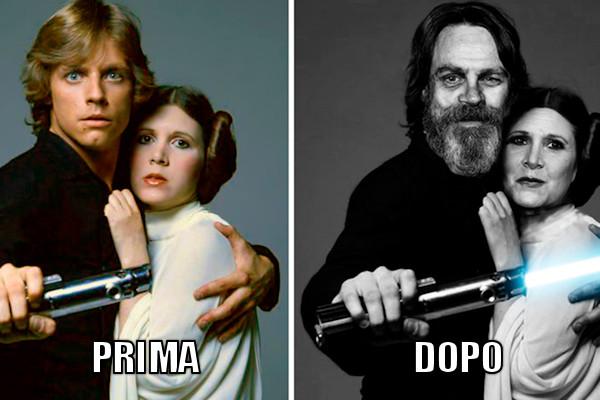 Star Wars prima e dopo
