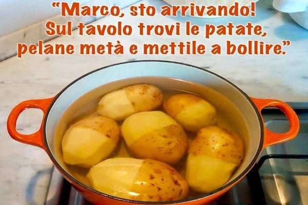 Pelare metà patate...