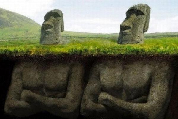Svelato il mistero dei Moai dell'Isola di Pasqua