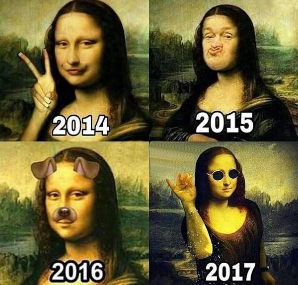 Anche Monalisa segue le tendenze...