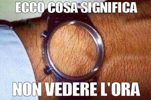 Un orologio irresistibile