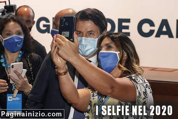 I selfie con la pandemia