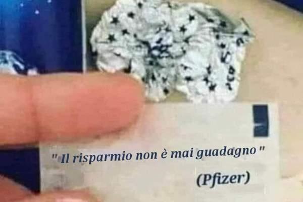 La citazione della Pfizer