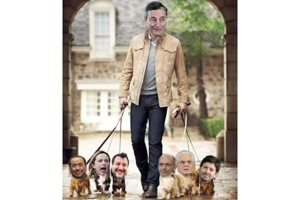 Draghi e i suoi cagnolini