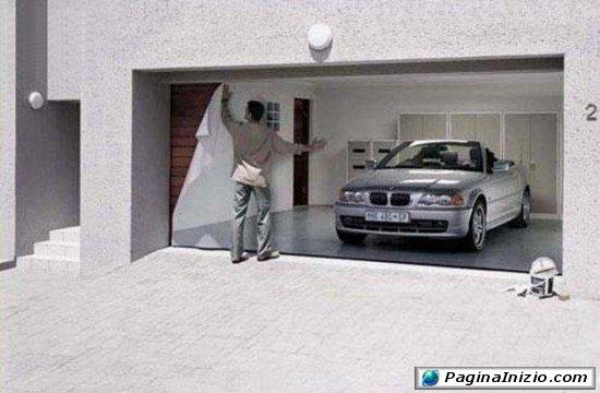 Garage aperto o chiuso?