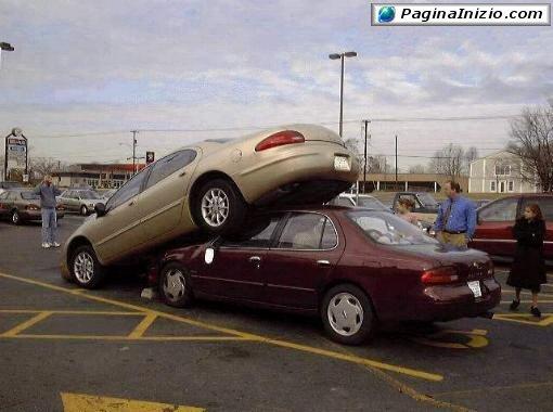 Parcheggio sopraelevato!