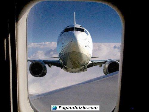 Oh oh, mi è sembrato di vedere un aereo!