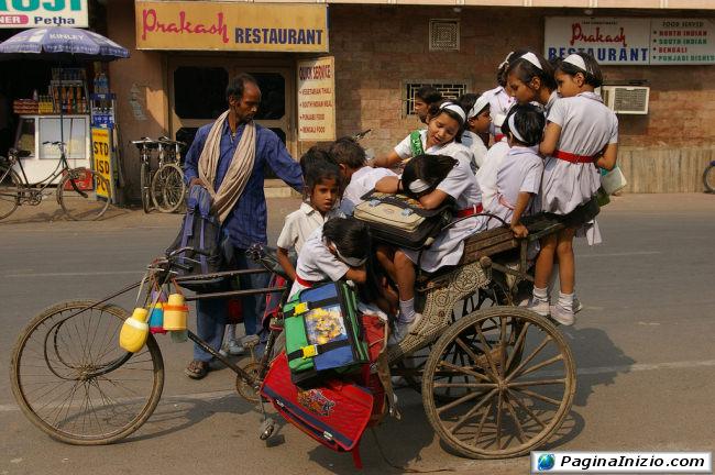 Scuolabus a tre ruote!