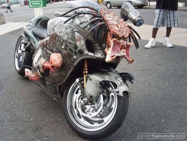 Una moto da paura!