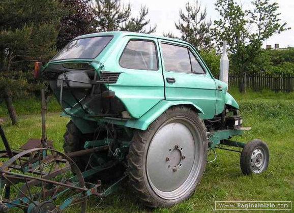 Auto o trattore?