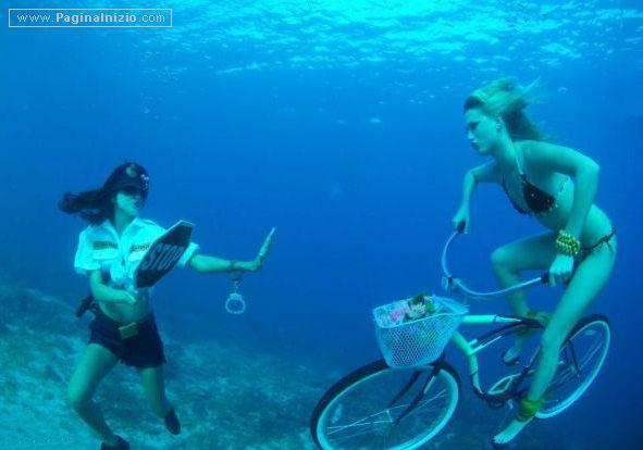 Infrazioni subacquee...