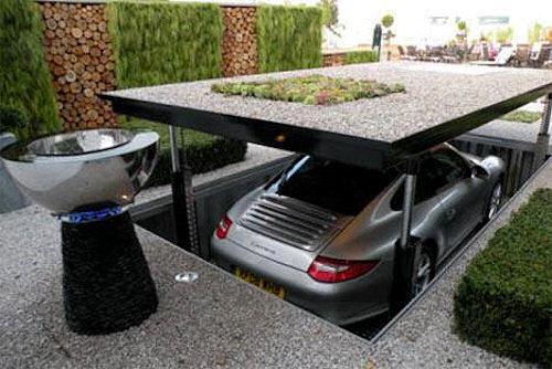 Parcheggio sotterraneo!