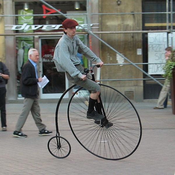 Bicicletta ad alta quota!