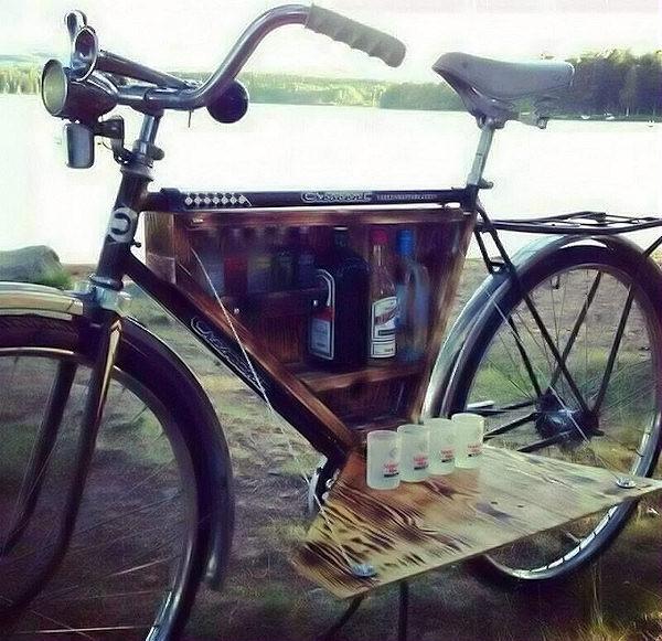 Bike bar!