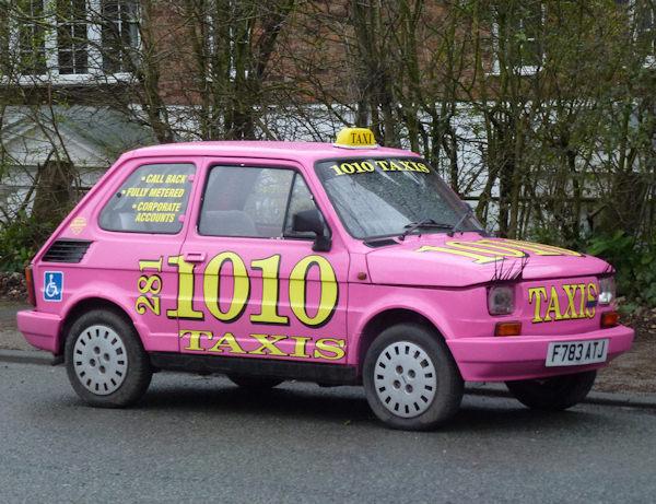 Un taxi femminile!