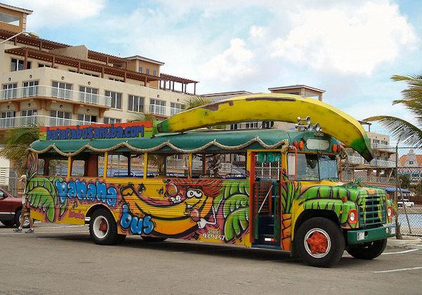 Banana bus!