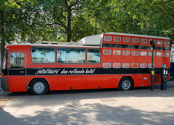 Autobus a tre piani!