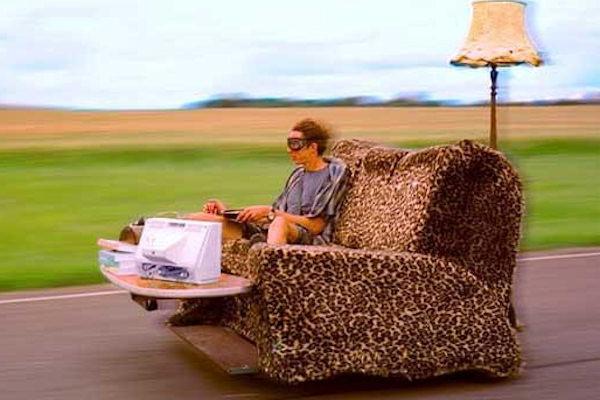 Il divano a motore