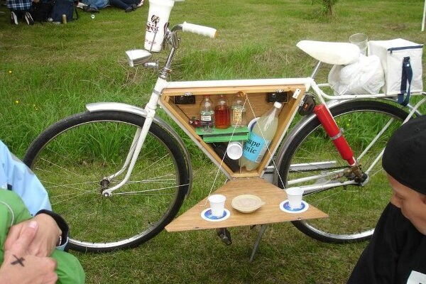 Ecco la bici da pic nic