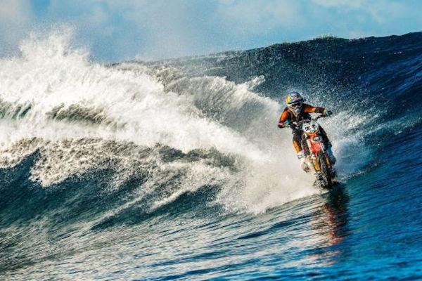 La moto da surf