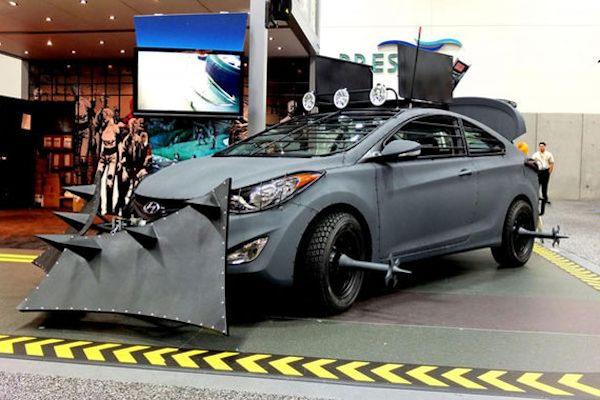 L'auto anti zombie