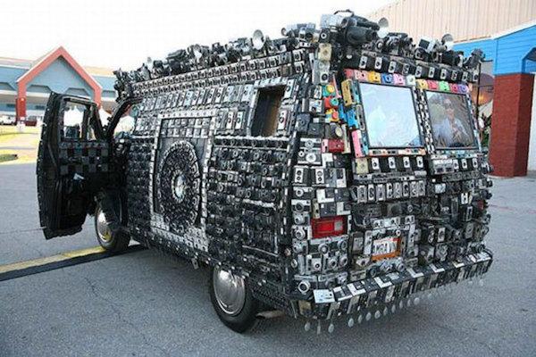 Il furgone dei paparazzi