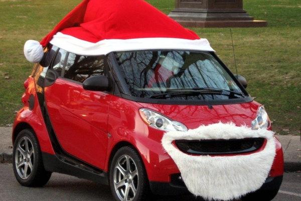 L'auto perfetta per Babbo Natale