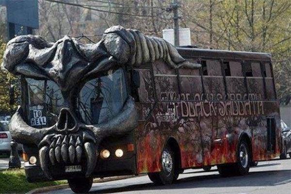 Un autobus da brividi