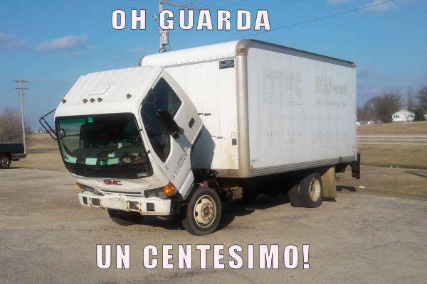 I piegamenti del camion