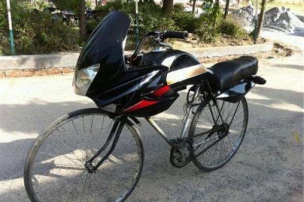 Una bici davvero unica