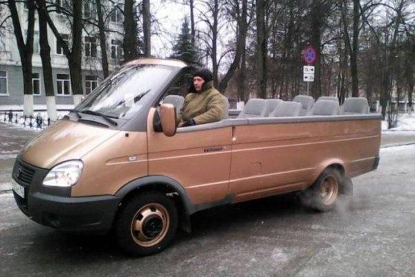 Il minivan cabrio!
