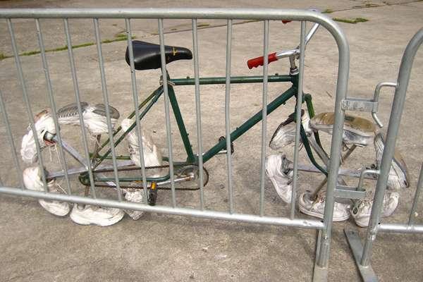Una bicicletta fuori dal comune