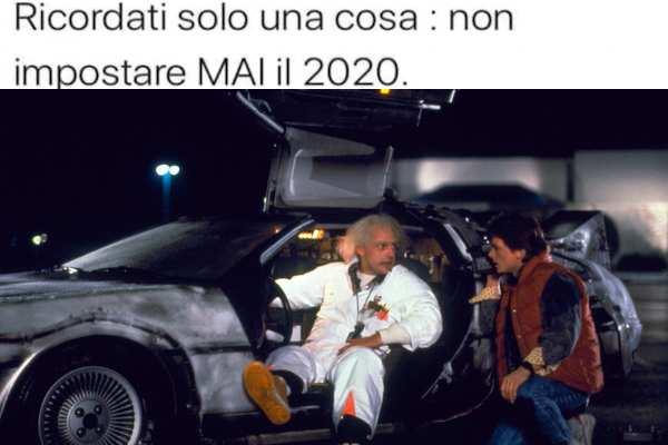 Ritorno al futuro?