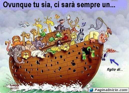 La vera storia di Noè...