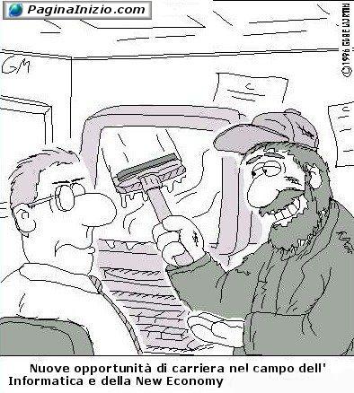 Inventarsi un mestiere!