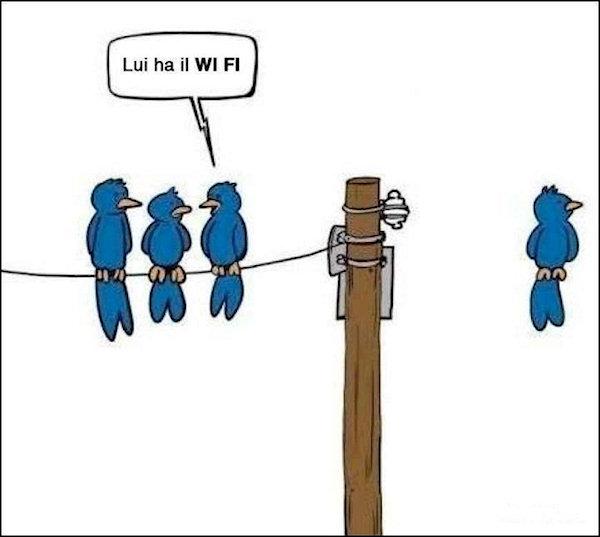 I vantaggi del Wi Fi