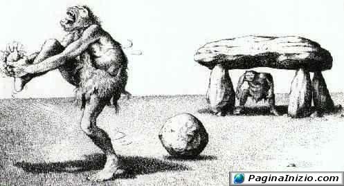 Il calcio primitivo...