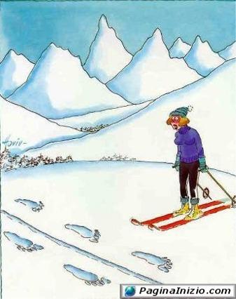 Sulle tracce dell'uomo delle nevi!