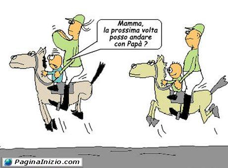 Gita a cavallo!