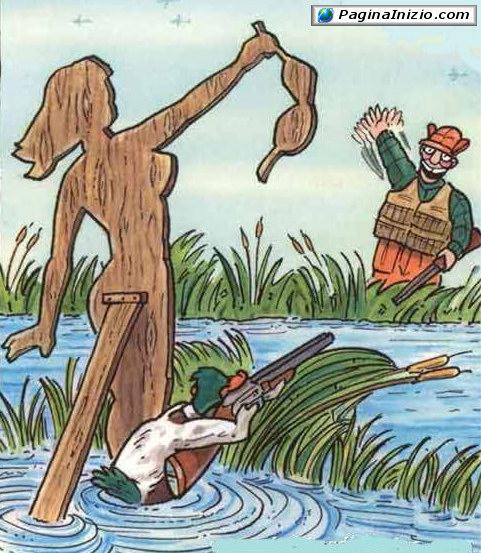 Come ingannare il cacciatore