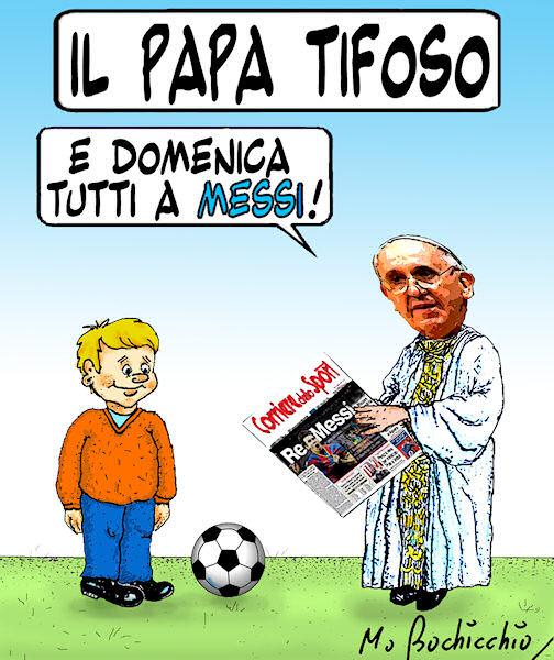 Il Papa e il calcio