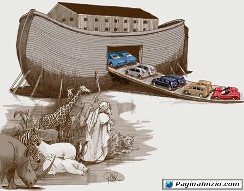 L'arca di Noè ai giorni di oggi