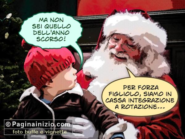 Babbo Natale e la crisi